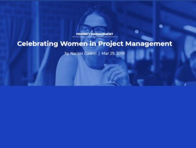 Celebrating Women in Project Management